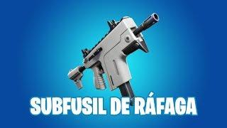Fortnite Battle Royale | Nueva arma: Subfusil de ráfaga