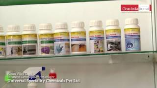 universal speciality chemicals pvt ltd at clean india technology week 2017
