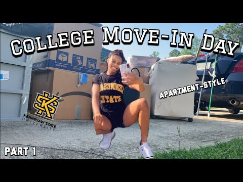 COLLEGE APARTMENT MOVE-IN VLOG 2020 | KENNESAW STATE