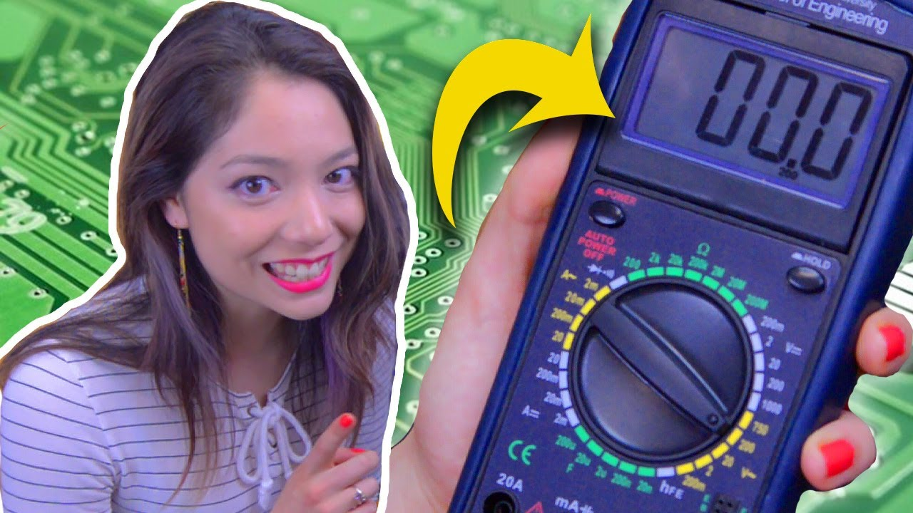 how to use a multimeter || measure voltage, current, resistance - easy!