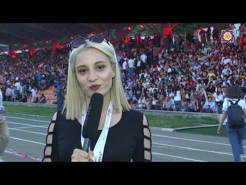 КОНИФА АРЦАХ 2019 Церемония открытия и сборная Западной Армении по футболу