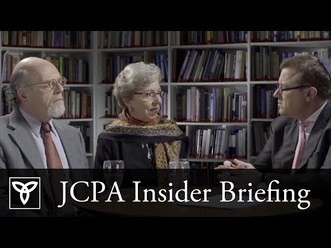 Israel's Settlements: Legal or Illegal? - JCPA Insider Briefing