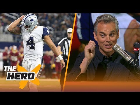 Colin Cowherd on the Cowboys playoffs chances after their Week 13 win | THE HERD