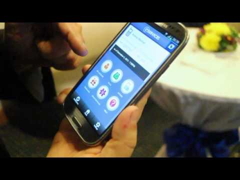 GCash, GServices, GMovies, GMessage: Globe mobile apps demo