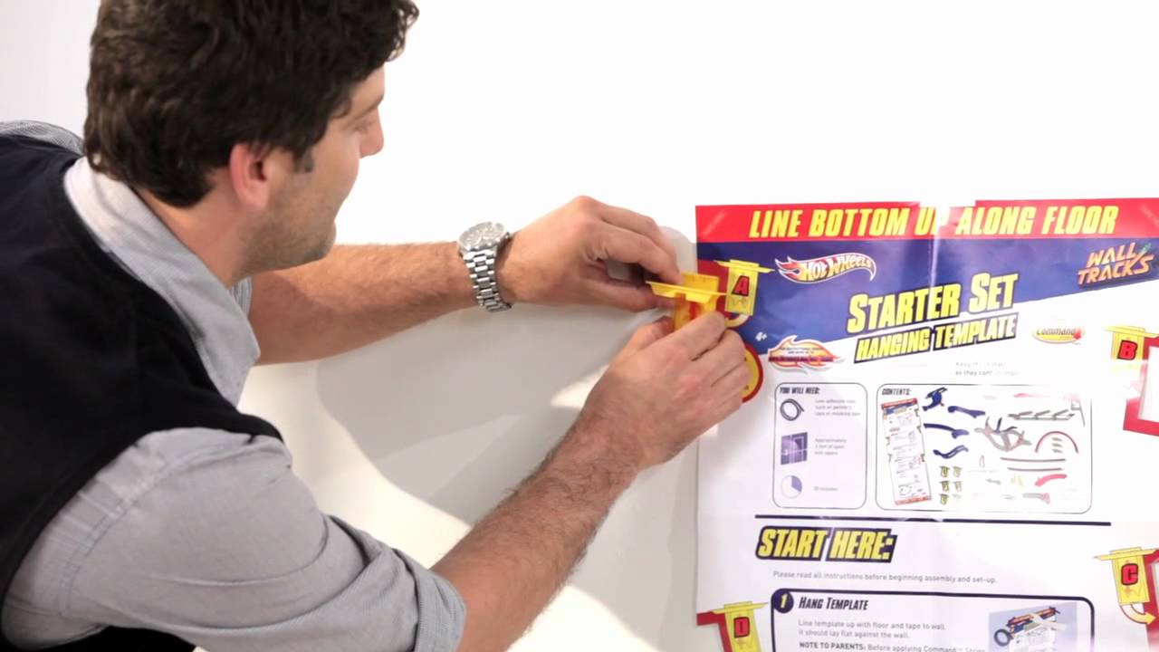 FUNdamental Tips to Assemble the Hot Wheels Wall Tracks   Hot Wheels ...