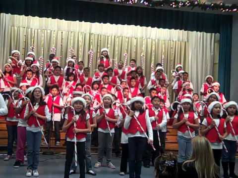 Rockin Around the Christmas Tree Gates Street Elementary Chorus