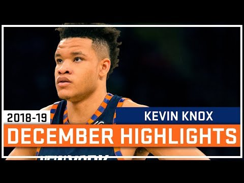 Kevin Knox Full December 2018-19 Highlights - New York Knicks - Rookie Of The Month