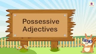 Possessive Adjectives | English Grammar | Periwinkle