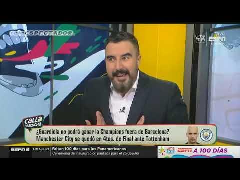 Analisis del MANCHESTER CITY vs TOTTENHAM - Cuartos Vuelta UCL 18/19 - CYE