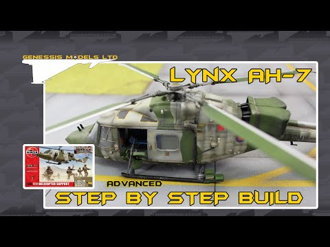 Airfix : Westland Lynx AH.7 : 1/48 Scale Model : Step By Step Video Build : Episode.1