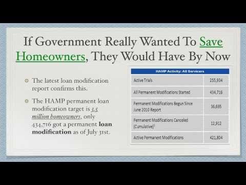 Loan Modification - Bank of America, Citi, JP Morgan Chase, and Wells Fargo Gamed the System