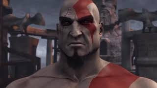KRATOS GOT HIS SCARS AND BLADES GOD OF WAR EARLY STORY