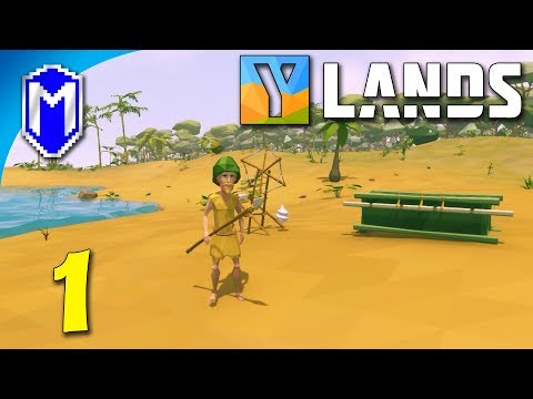 Ylands - Stranded On An Island, Time To Explore Our New Home - Let's Play Ylands Gameplay Ep 1