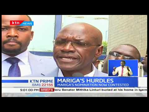 Mariga political woes not over as Peter Kinyanjui challenges his nominations