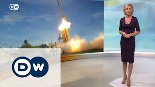 Рост напряженности  США размещают ПРО в Южной Корее   DW Новости (07 03 2017)