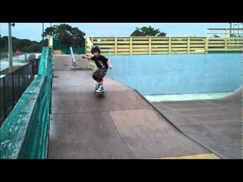 Griff Dog hits Brian Picollo Skatepark in Broward County Florida