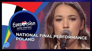 Alicja Szemplińska - Empires - Poland 🇵🇱 - National Final Performance - Eurovision 2020
