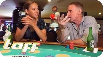 Glücksspiel in Las Vegas: Gewinnt Taynara beim Blackjack? | taff | ProSieben