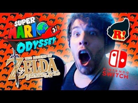 REACCIONANDO AL NUEVO SUPER MARIO Y A ZELDA! / Presentación Nintendo Switch