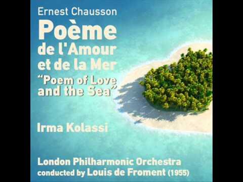 """Poème de l'amour et de la mer, Op. 19: """"La Fleur des Eaux"""""""