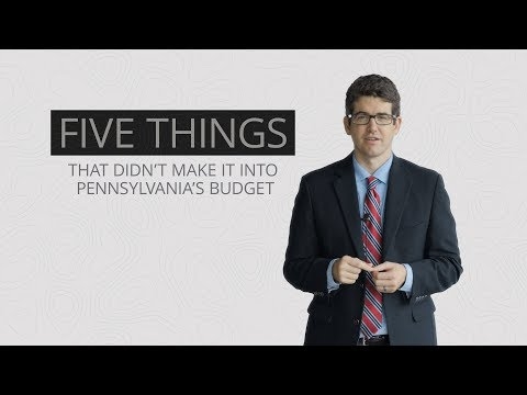 5 things that didn't make it into Pennsylvania's $34 billion budget package