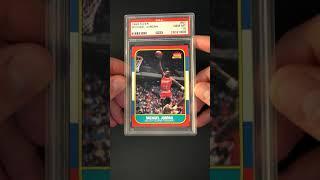 1986 Fleer Basketball Michael Jordan ROOKIE RC #57 PSA 10 GEM MINT (PWCC) - Ends 3/22/20