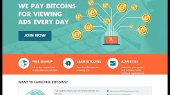 Earn free bitcoins without investments highest paying faucet || ads4btc || not scam