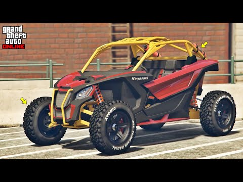 GTA 5 Online: Nagasaki Outlaw Customization & Test | Can-Am Maverick X3 Turbo