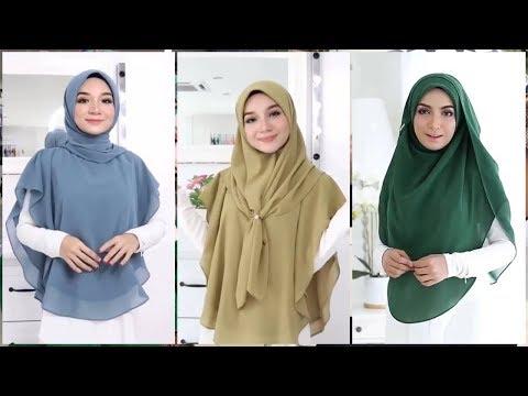 - Hijab Tutorial Khimar Style