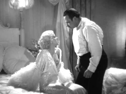 Dinner at Eight 1933  Jean Harlow & Wallace Beery
