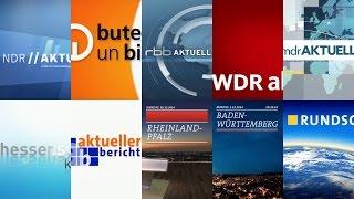 German regional news openings 2014 (HD)