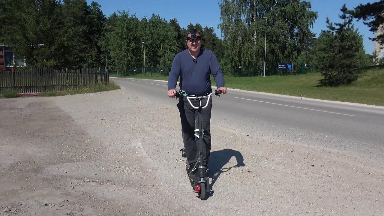 Самодельный скутер с бензиновым двигателем замена ведомой звёздочки!
