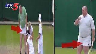 Funny Incident at Wimbledon Tennis 2017 | TV5 News