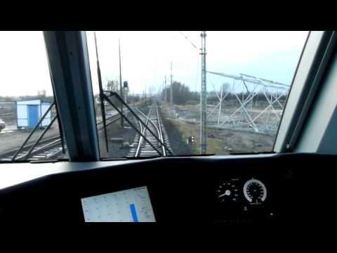 Przejazd w kabinie Traxx  E483 256  Lotos Kolej