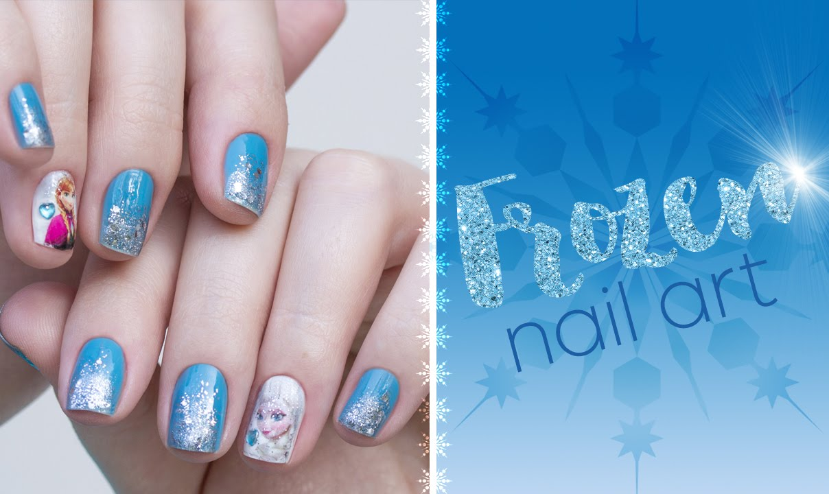 Elsa Nail Art Images - simple nail design ideas for beginners