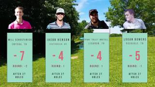 Music City Open Round 2 Chase Card Back 9- Schusterick, Henson, Bretell, Bowers