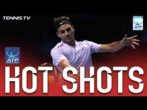 Federer Claims Key Points In Scrambles Hot Shots Nitto ATP Finals 2017 Round Robin