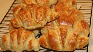 How To Make Butter Croissants