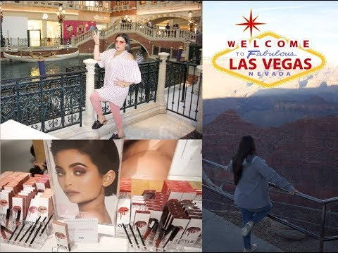 VEGAS| KYLIE JENNER POP UP, SHOPPING, GRAND CANYON & MORE