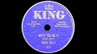 Ralph Willis - Why
