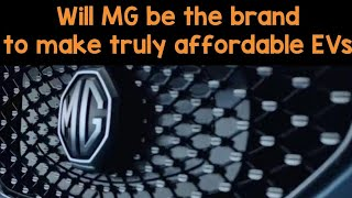 Is MG the Electric car brand to take on existing EV manufacturers like Hyundai and Nissan