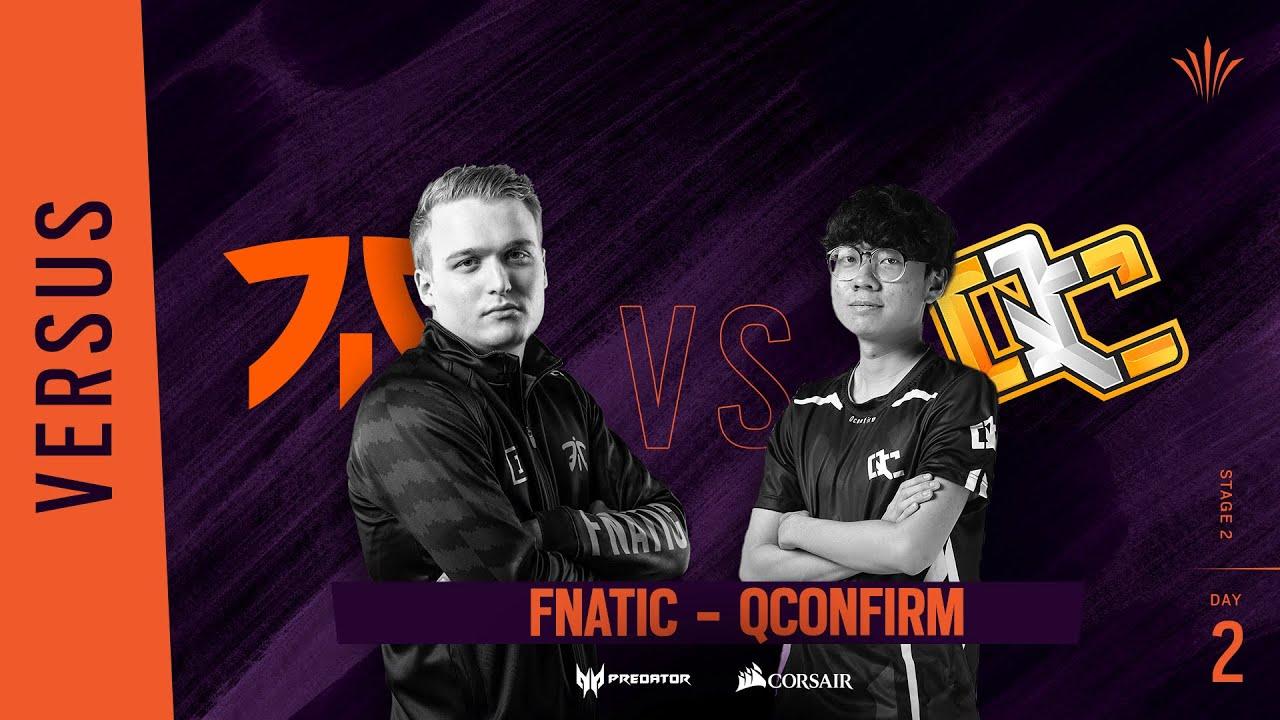Fnatic vs QConfirm // Rainbow Six APAC North Division 2020 - Stage 2 - Playday #2