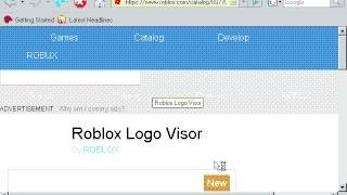 Roblox-Website unter Windows 98 (16-Bit und 16 Farben)