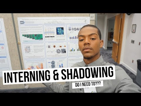 📚 ALL ABOUT INTERNSHIPS/SHADOWING- What to expect? Do I need to? | Tarek Ali