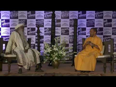 In conversation with the Mystic Yogi Adityanath with Sadhguru