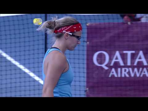 IPTL 2016: Indian Aces vs UAE Royals - Point of the Match (Women's Singles)