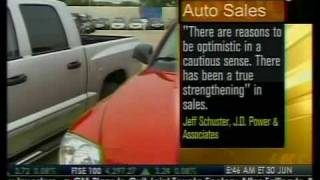 Auto Sales May Top 10M Annual Rate In June - Bloomberg