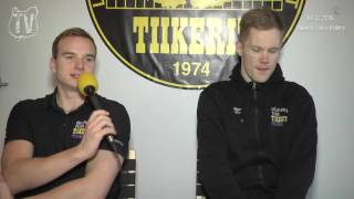 Tiikerit - Leka Volley su 2.12.2016 - Otteluennakko