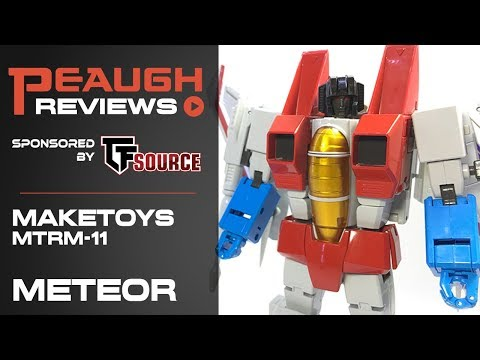 Video Review: Maketoys MTRM-11 METEOR