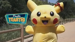 RAY DRESSES UP AS PIKACHU - Double Toasted Highlight